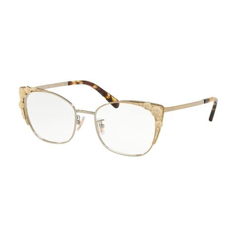 fcaee8c38e Coach Cateye HC5094 Women LIGHT GOLD Frame DEMO LENS Lens Eyeglasses