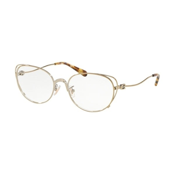 bea7191d70 Shop Coach Cateye HC5095 Women LIGHT GOLD Frame DEMO LENS Lens Eyeglasses -  Free Shipping Today - Overstock - 24253835