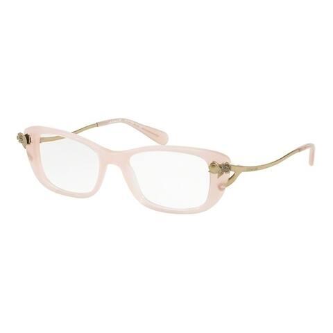 6bbd9a27c5 Coach Cateye HC6118BF Women MILKY PINK BLUSH Frame DEMO LENS Lens Eyeglasses
