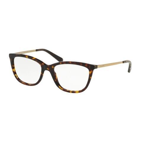 Coach Rectangle HC6124 Women DARK TORT Frame DEMO LENS Lens Eyeglasses