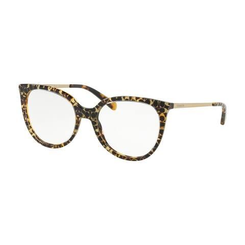 Coach Square HC6125 Women SPOTTY TORT SIG C OUTSIDE Frame DOME LENS Lens Eyeglasses