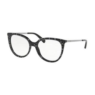 Coach Square HC6125F Women GUNMETAL SIG C OUTSIDE Frame DEMO LENS Lens Eyeglasses