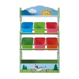 Fantasy Fields - Sunny Safari Toy Organizer With Combo Bins