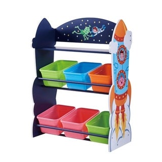 Fantasy Fields - Outer Space Toy Organizer With Storage bins
