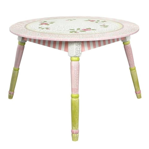 Fantasy Fields - Crackled Rose Table