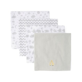 Link to Spasilk 4 Pack Cotton Receiving Blankets - One Size Similar Items in Baby Blankets