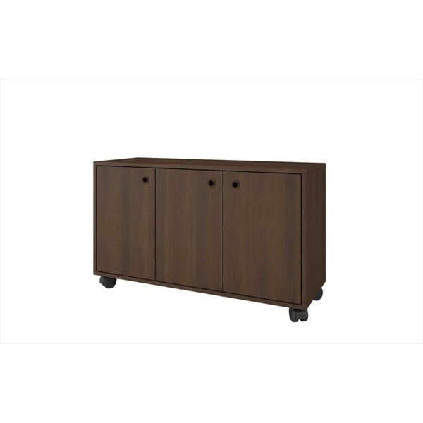 Shop Homeroots Furniture Dali 3 Shelf Mobile Kitchen Storage Cabinet