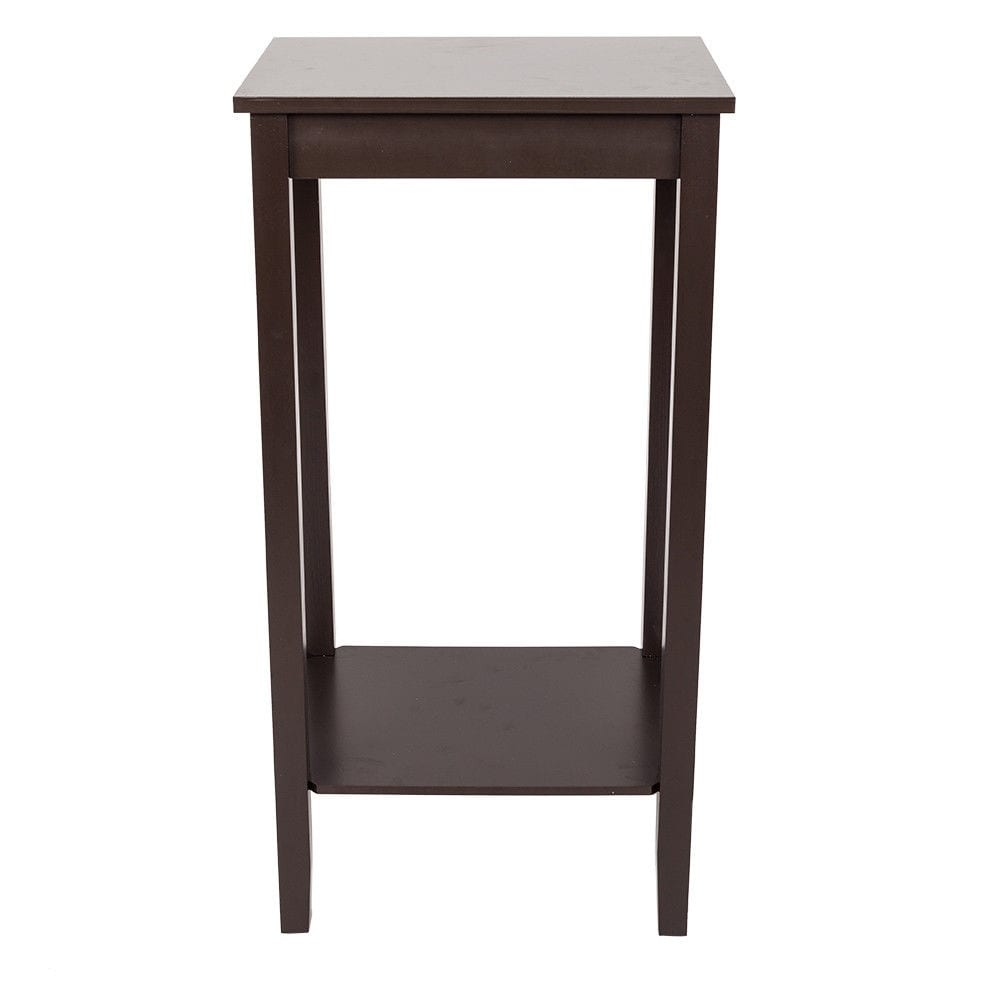 separation shoes e878b e0816 2 Tier Living Bedroom Wood Nightstand Tall Sofa Side End Table