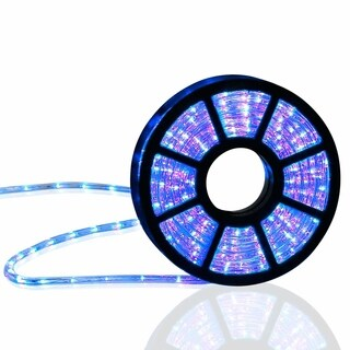 Kinbor 50FT LED Rope Light In/Outdoor Christmas Decorative Lighting