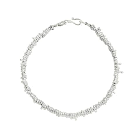 6cc93c33fb444 Buy 8 Inch Sterling Silver Bracelets Online at Overstock | Our Best ...