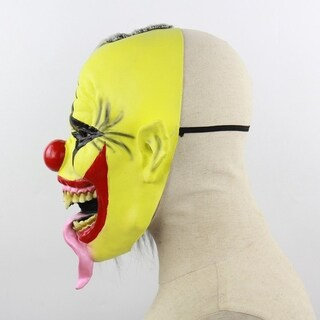 scary clown latex full mask Cosplay terrifying masquerade mask ghost Evening