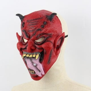 Halloween Masks Horror Ghost Face Zombie Vampire Quilted Skin Party Mask Wig