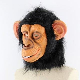 Funny Big Ear Monkey Halloween Funny Animal Hood Christmas Orangutan Mask