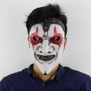 Zipper Mouth Mask Halloween Horror Scary Haunted House Set Christmas Mask