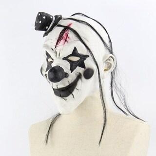 Faroot Deluxe Horrible Clown Mask Halloween Clown Evil Killer Demon Clown Mask