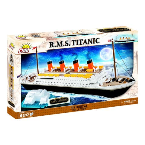 Cobi Historical Collection 1912 R.M.S. Titanic 600 Piece Brick Construction Block Buidling Kit