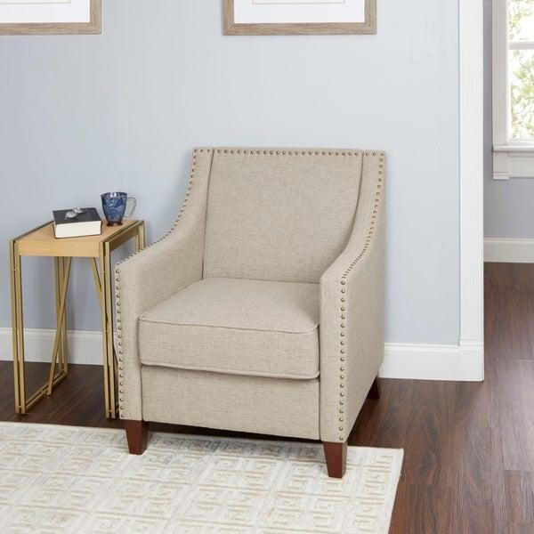 Shop Stevenson Fabric Upholstered Sloped Arm Club Chair