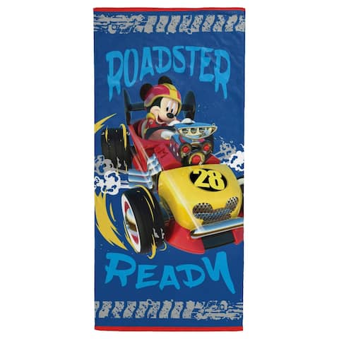 Disney Mickey Mouse Roadster Racer Beach Towel