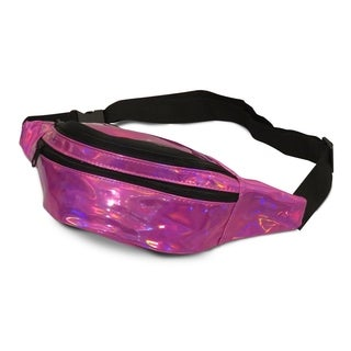 AFONiE Colorful Holographic Fashion Fanny Pack