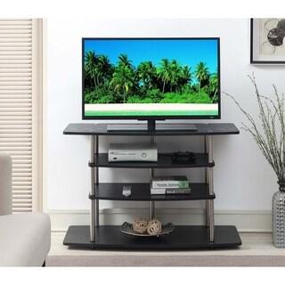 Convenience Concepts Designs2Go Black No Tools Wide Highboy TV Stand
