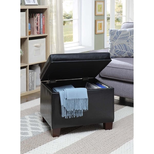Enjoyable Shop Convenience Concepts Designs4Comfort Madison Storage Short Links Chair Design For Home Short Linksinfo