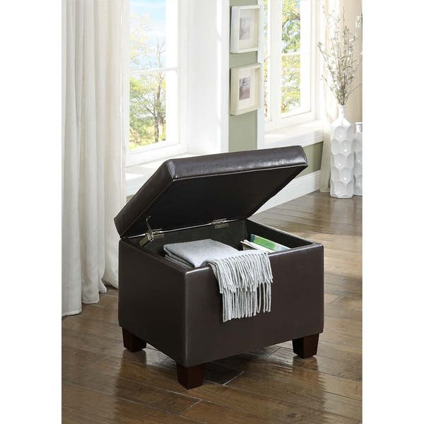 Fabulous Shop Convenience Concepts Designs4Comfort Madison Storage Short Links Chair Design For Home Short Linksinfo