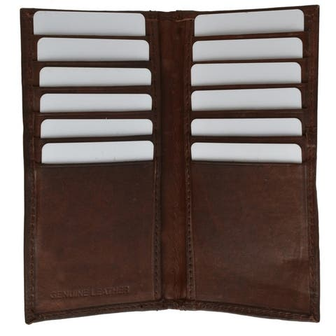 AFONiE Slim Leather Wallet for Cards