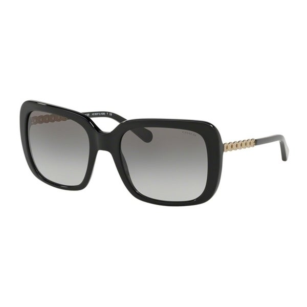 bd1fe140913f Shop Coach Square HC8237F Women BLACK Frame GREY GRADIENT Lens Sunglasses -  Free Shipping Today - Overstock - 24256672