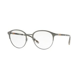 Burberry Phantos BE1318 Mens MATTE GUNMETAL Frame Demo Lens Eyeglasses