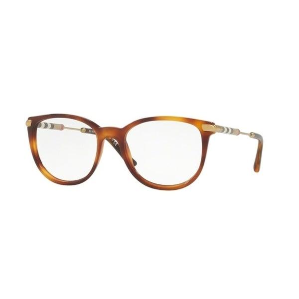 713a77cb7e Shop Burberry Square BE2255Q WoMens LIGHT HAVANA Frame Demo Lens Eyeglasses  - Free Shipping Today - Overstock.com - 24257098