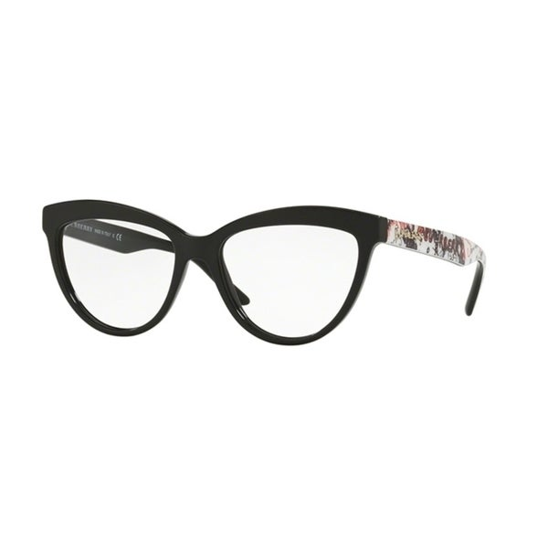 967672a86 Shop Burberry Cat Eye BE2276 WoMens BLACK Frame Demo Lens Eyeglasses - Free  Shipping Today - Overstock - 24257148