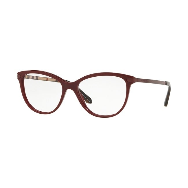 3f324f8bc7f7 Shop Burberry Square BE2280 WoMens BORDEAUX Frame Demo Lens Eyeglasses -  Free Shipping Today - Overstock.com - 24257197
