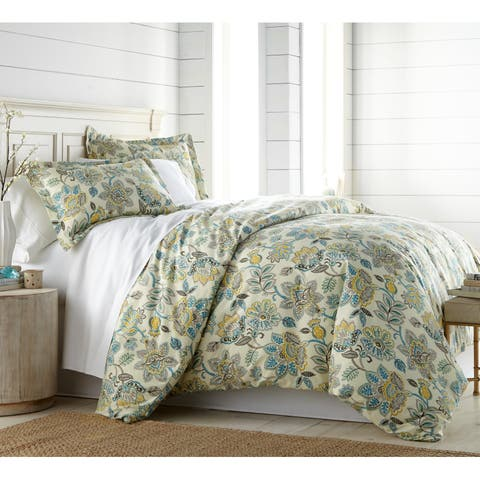 Wanderlust Comforter and Sham Set - Cream