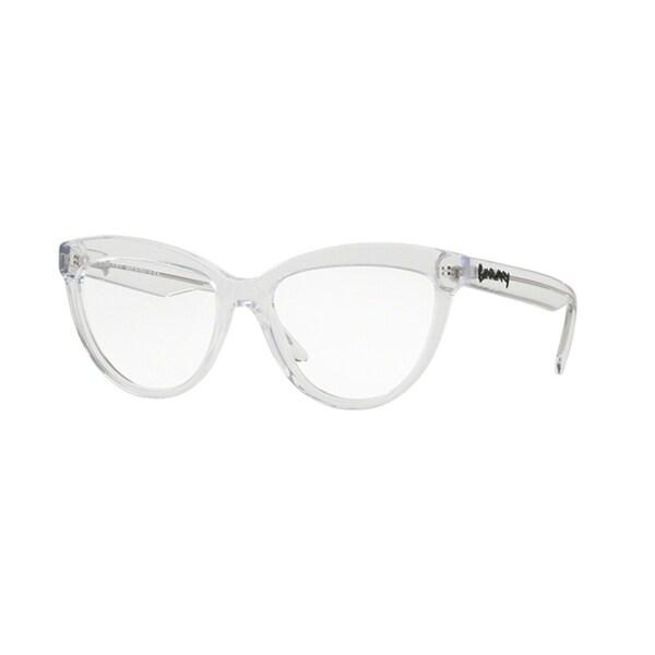 e1bb9058b79 Burberry Cat Eye BE2276F WoMens TRANSPARENT Frame Demo Lens Eyeglasses