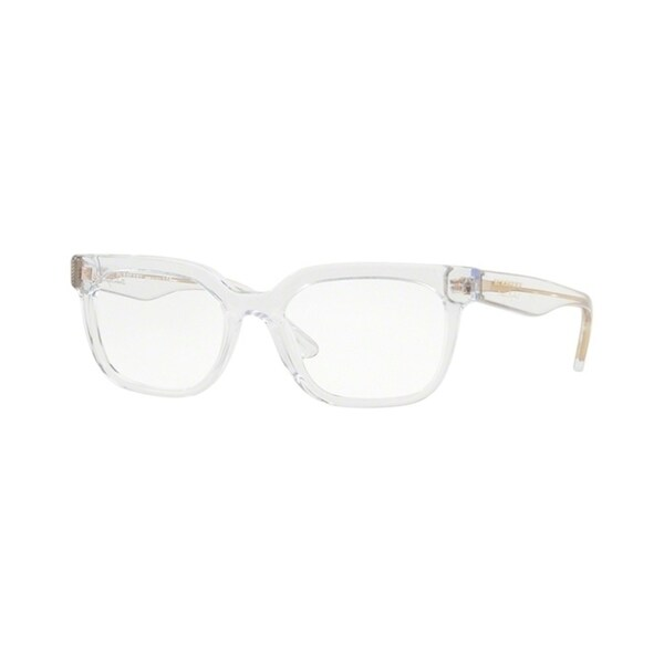 ce4d7236713 Burberry Square BE2277 WoMens TRANSPARENT Frame Demo Lens Eyeglasses
