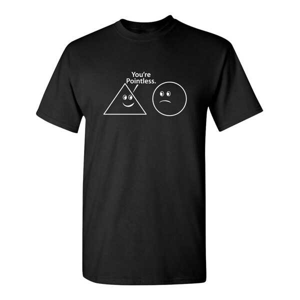 Youre Pointless Mens T-Shirts