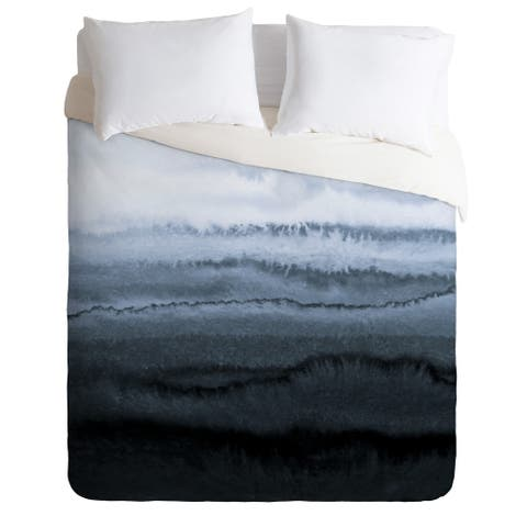 WITHIN THE TIDES STORMY WEATHER GREY Duvet Cover