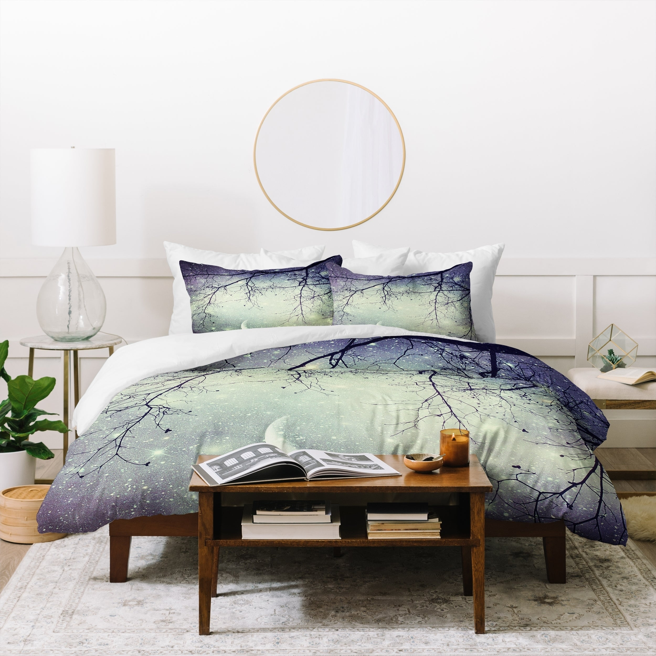 Diamonds In The Sky Duvet Cover Full Overstock 24258072