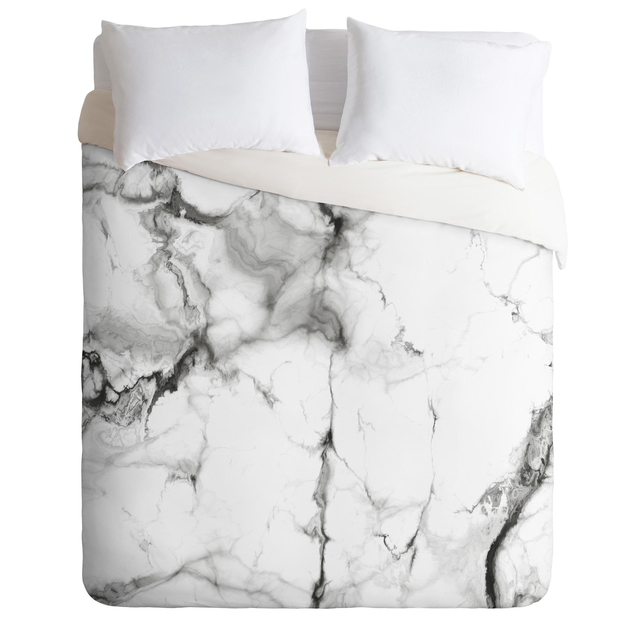 marble duvet cover king