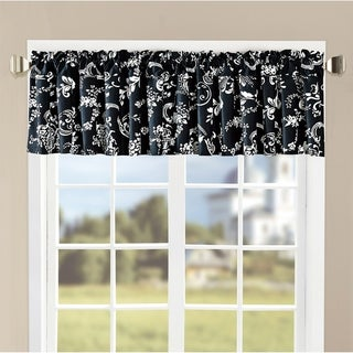 "Link to Serenta Printed LA Boheme Valance - 60"" x 18"" - 60"" x 18"" Similar Items in Window Treatments"