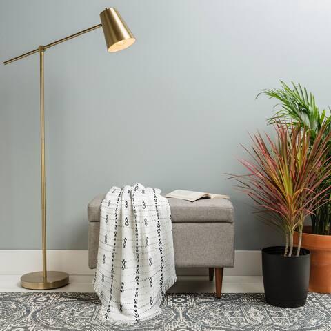 Deny Designs Tribal Stripe Woven Throw Blanket (50 in x 60 in)