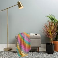 Deny Designs Southwest Rainbow Woven Throw Blanket (50 in x 60 in)