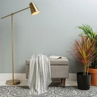 Deny Designs Linear Cross Woven Throw Blanket (50 in x 60 in)