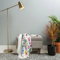 Deny Designs Garden Baby Woven Throw Blanket (50 in x 60 in)