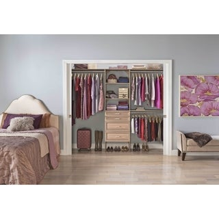 ClosetMaid SuiteSymphony 25 in. Closet Organizer with Shelves and 4 Drawers