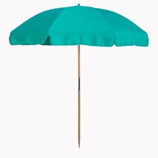 MyUmbrellaShop 7.5 Wood Beach Umbrella with Aruba cover