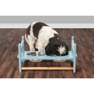 FurHaven Adjustable Pet Feeder Stand - Ladder Style