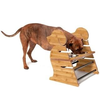 FurHaven Adjustable Pet Feeder Stand - Puppy Style