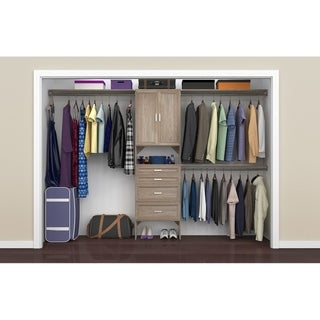 ClosetMaid SuiteSymphony 25 in. Closet Organizer with Shelves, 4 Drawers and 2 Doors