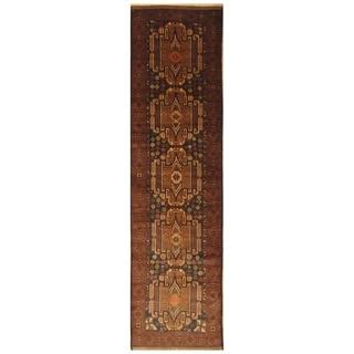 Handmade Balouchi Wool Runner (Afghanistan) - 2'8 x 10'